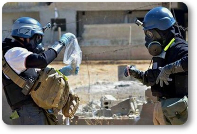 OPAQ inspectores en siria