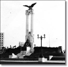 Maine con AGUILA 1928 Monument12003