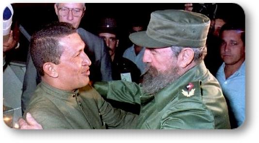 Chavez-Fidel primer encuentro 1994