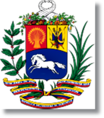 VENEZUELA ESCUDO 131px-Coat_of_arms_of_Venezuela_svg