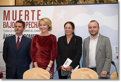 ESPERANZA AGUIRRE BAJO SOSPECHA CARROMERO